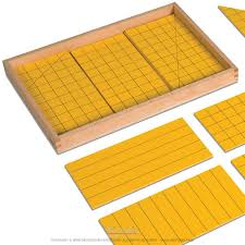 Montessori surfaces