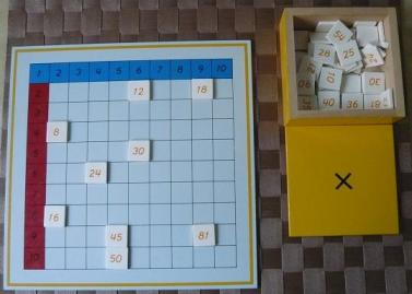 Montessori tableau 1